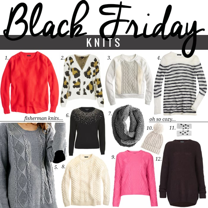 Black Friday Knits