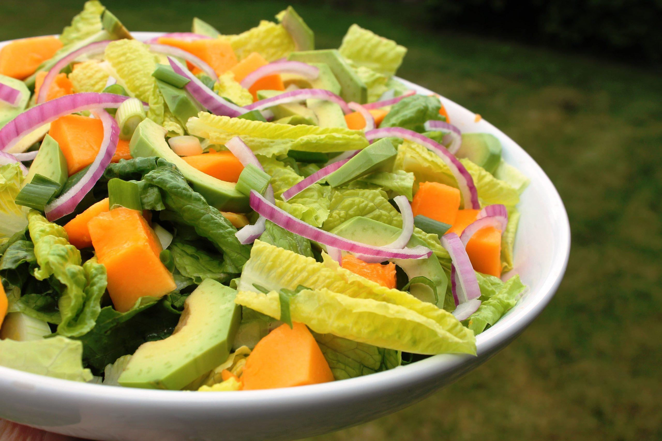 Papaya Avo Salad