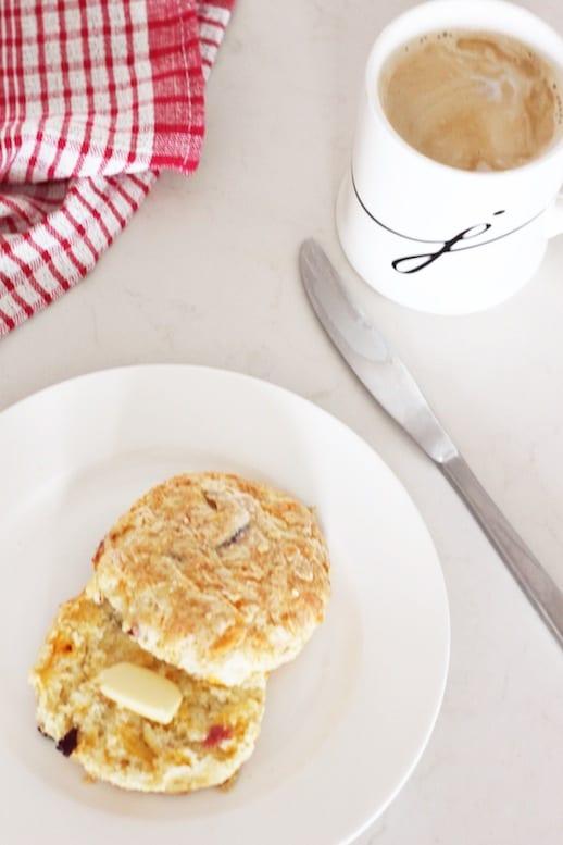 Food Friday: Ham And Cheese Scones - Jillian Harris