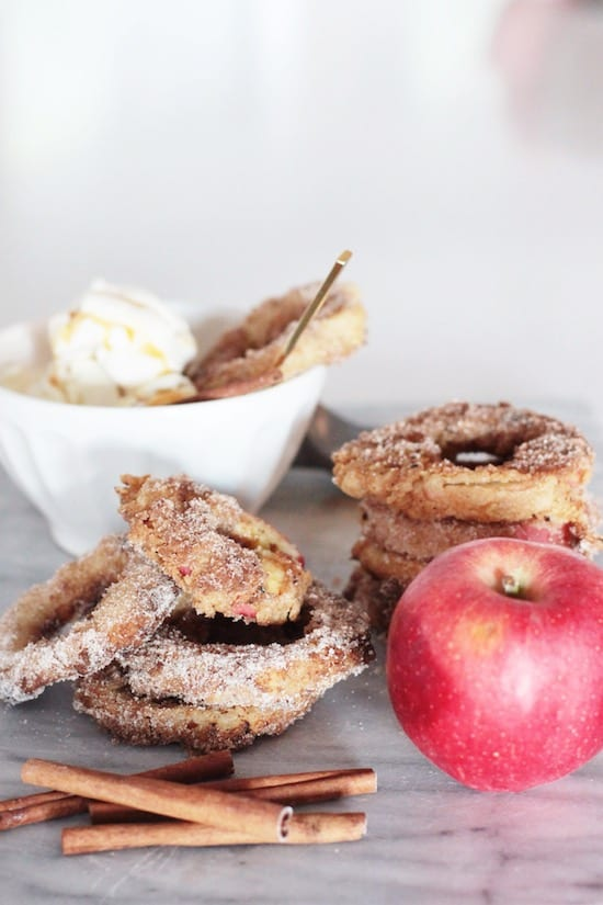 Whoever invented FRIED APPLE RINGS should be granted guaranteed access ...