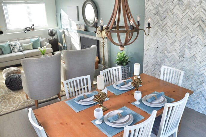 Table small for Jillian harris kitchen designs