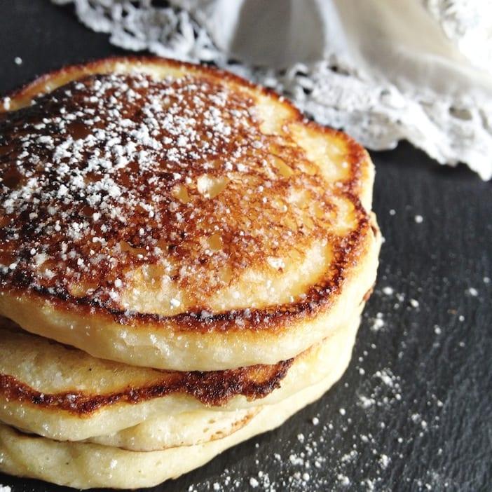 Food Friday: Lemon Ricotta Pancakes - Jillian Harris