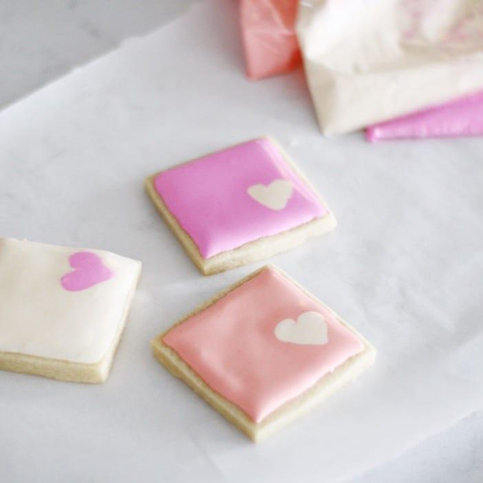 Valentine Sugar Cookies - Jillian Harris