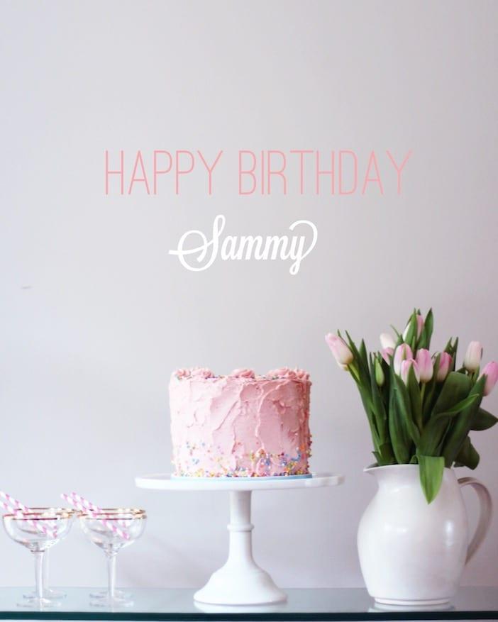 happy birthday sammy Happy Birthday Sammy!   Jillian Harris happy birthday sammy