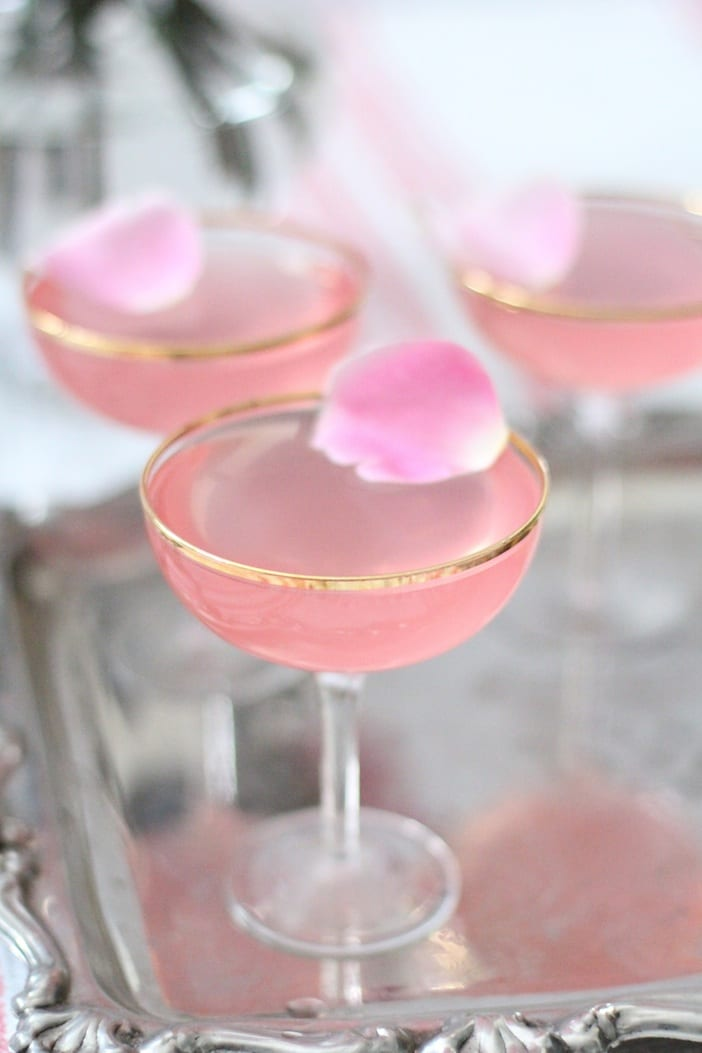 Valentine's Lady Rose Drinks