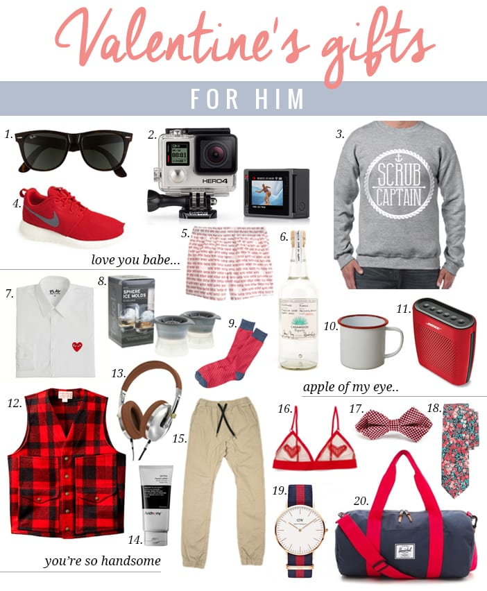 Valentine 39 s gifts for him jillian harris Best valentine gifts for him