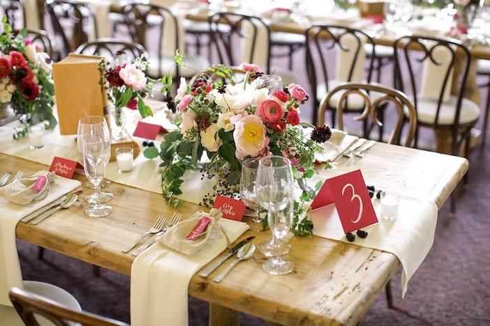 Desiree Hartsock Wedding Table