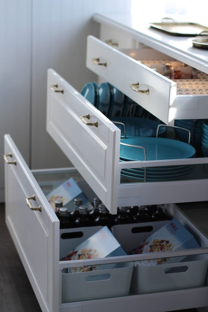 Organizing Ikea Kitchen Drawers