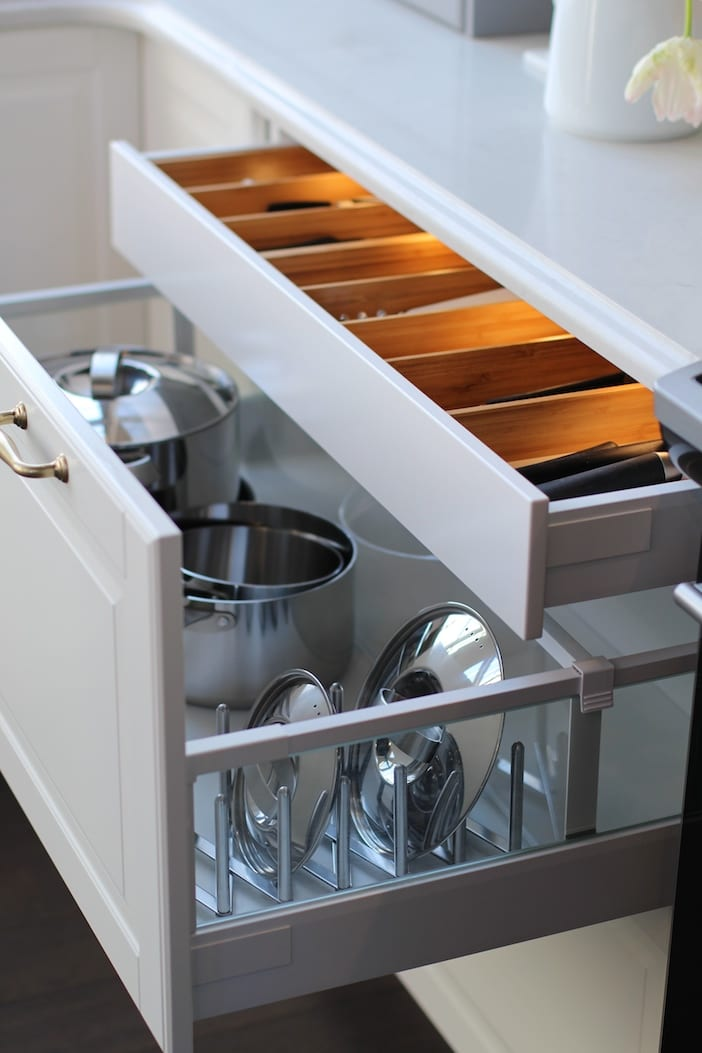 My ikea sektion kitchen jillian harris for Kitchen drawers