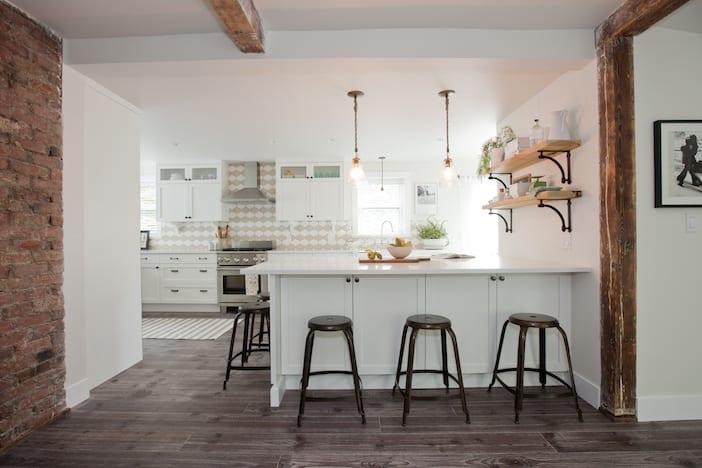 White Kitchen Love Jillian Harris