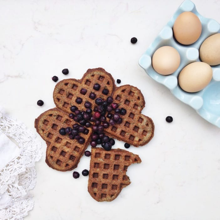 blueberry waffles 3