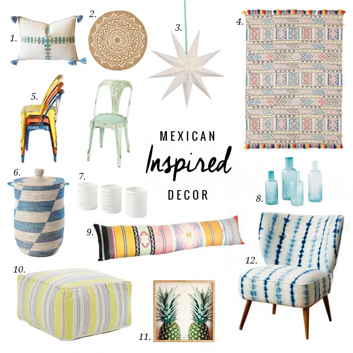 Mexican inspired decor jillian harris for Mexican home decorations