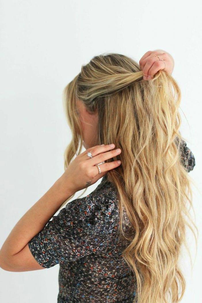 Cara McLeay hair tutorial