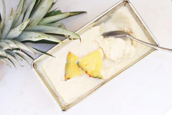 pina banana ice cream