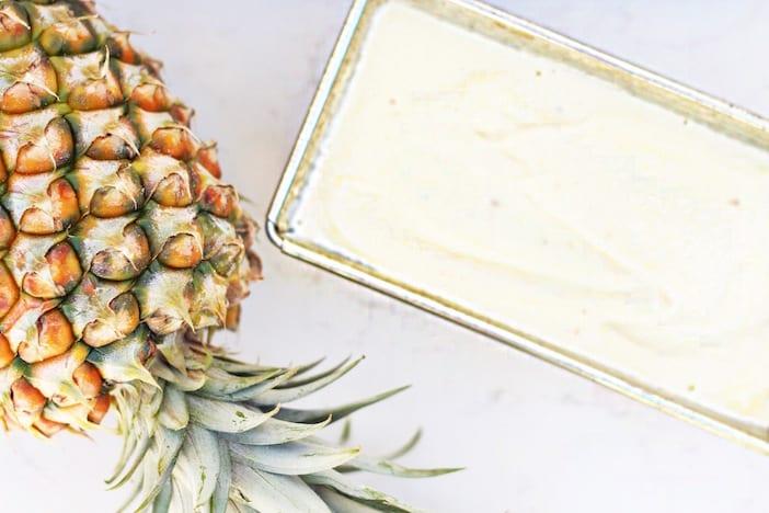 pineapple banana ice cream