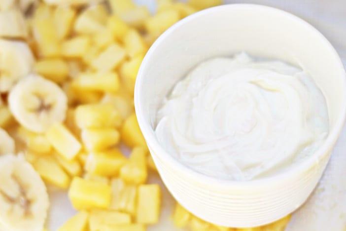 pineapple banana icecream