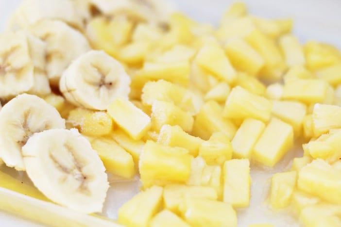 pineapple banana