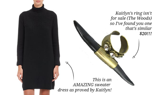 kaitlyns ring & sweater