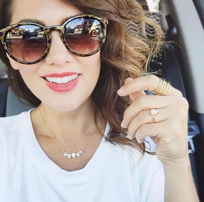 8fb91eb313 sunglasses - Jillian Harris