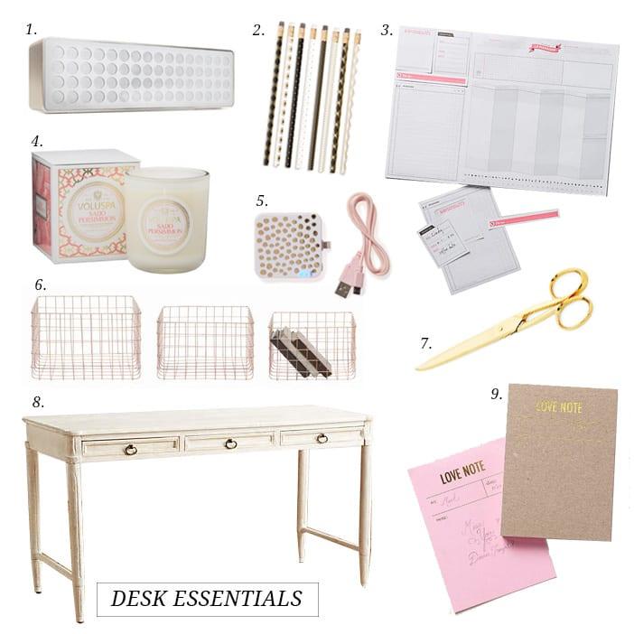 desk top essentials
