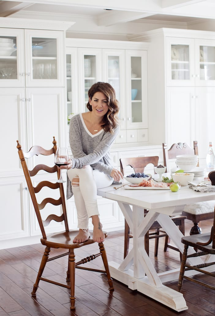 girls afternoon in my kitchen jillian harris. Black Bedroom Furniture Sets. Home Design Ideas