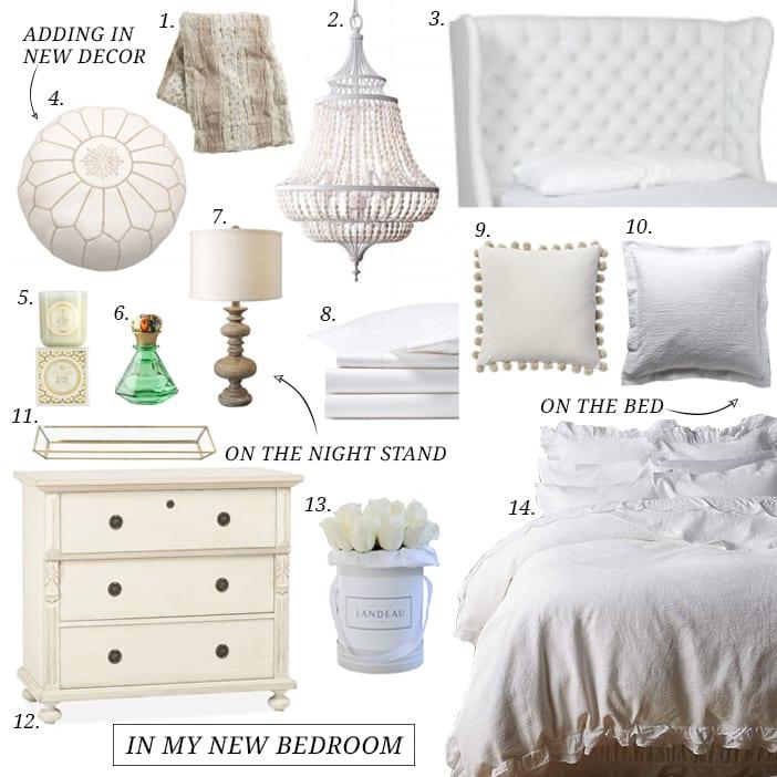 in my new bedroom