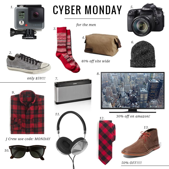 Cyber Monday for the men2