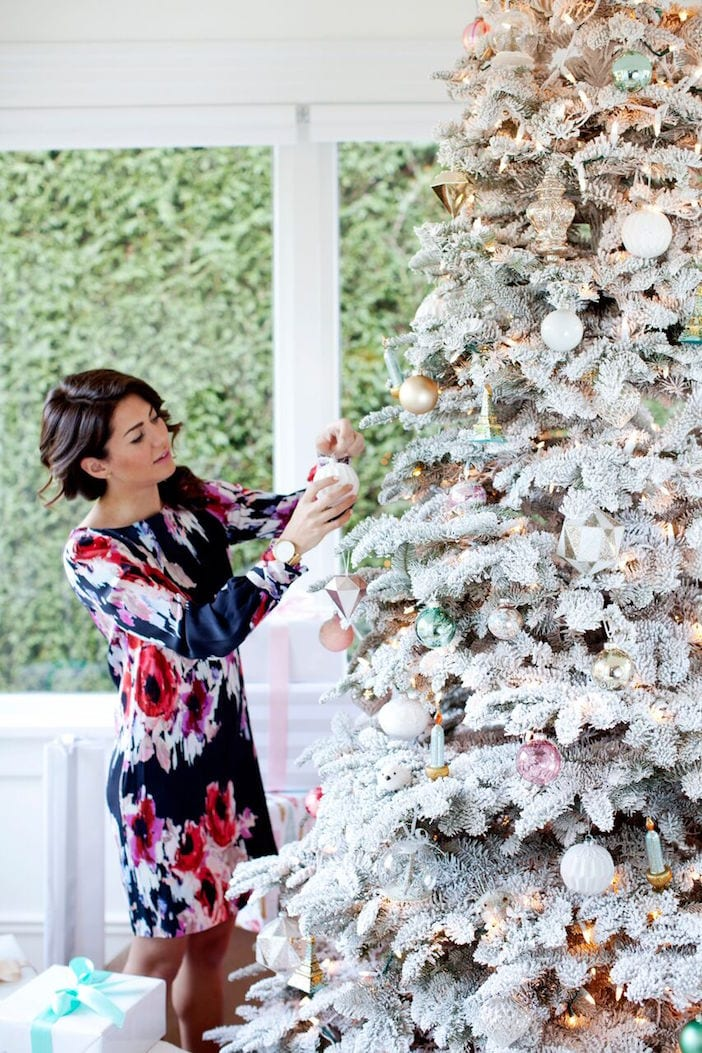 if you arent already aware i have been guest blogging for w dish since september i recently created this christmas tree styling step by step