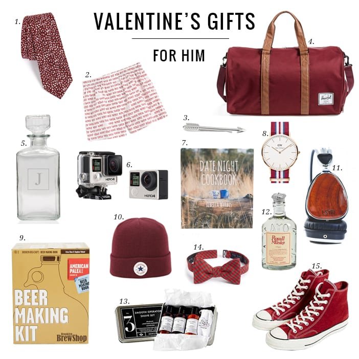 Valentine 39 s gifts for the gents jillian harris for Small valentines gifts for him