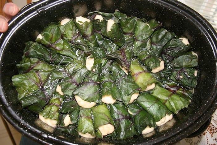 Easter Long Weekend Menu - cabbage rolls