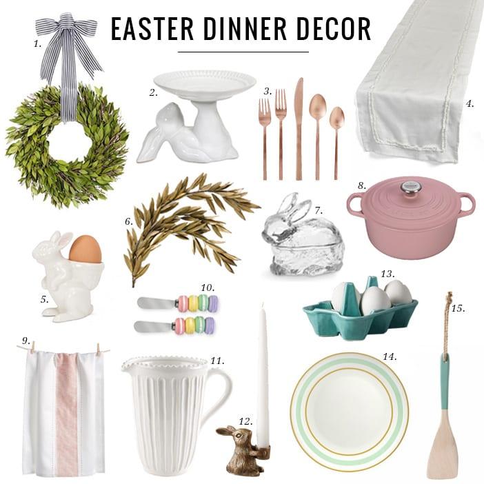 EASTER DINNER DECOR