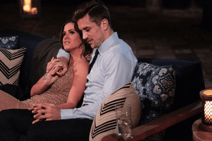 The Bachelorette On ABC Falls In Love