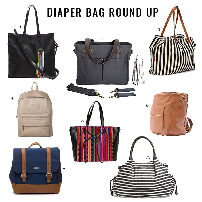 Jillian Harris Diaper Bag Round Up