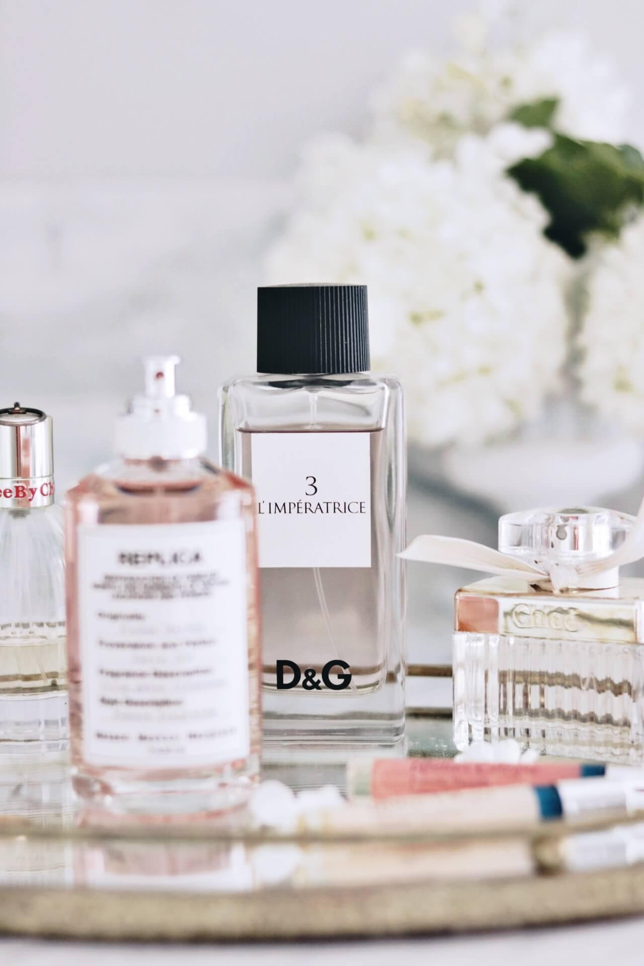 Jillian Harris Cruelty-Free Perfume D&G L'imperatrice