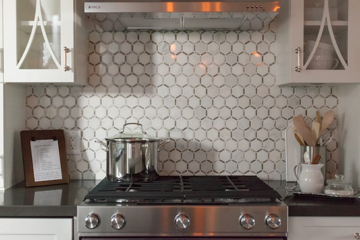 Love It Or List it Vancouver Episode 3078 Kitchen backsplash detail