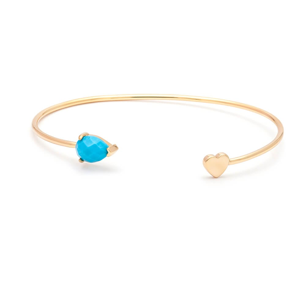 Heart-Cuff-Turquoise