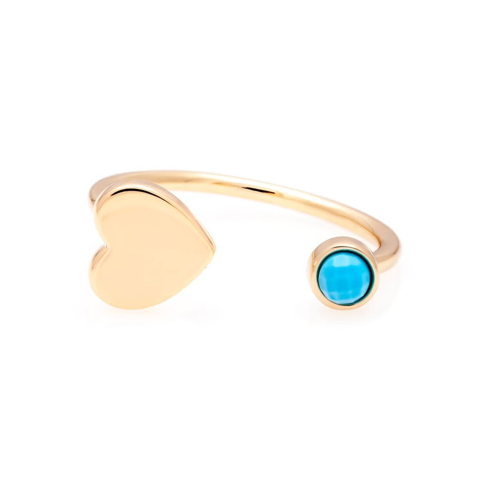 Heart-Ring-Turquoise