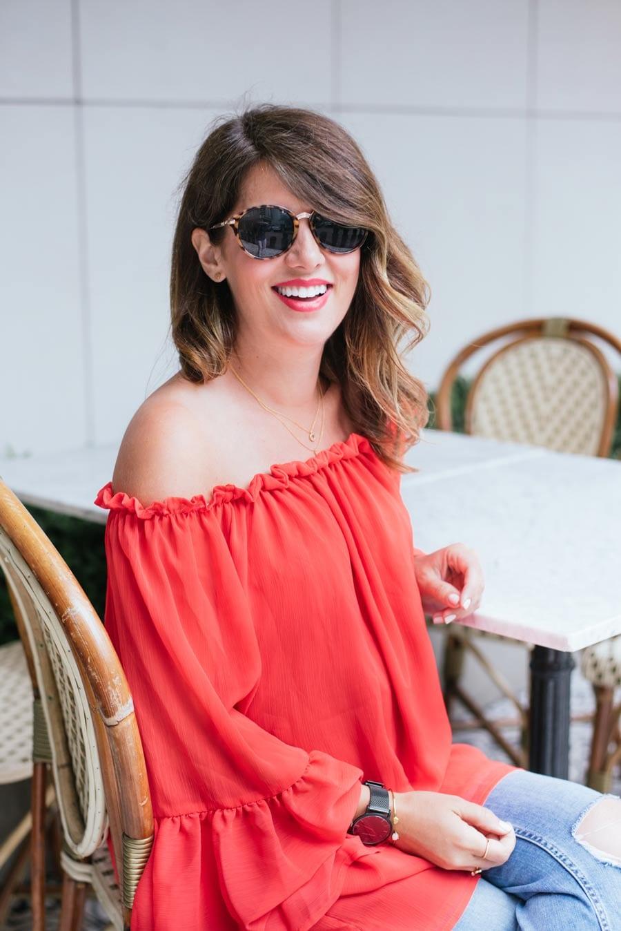 Jillian-Harris-Chic-Wish-Red-Dress-03