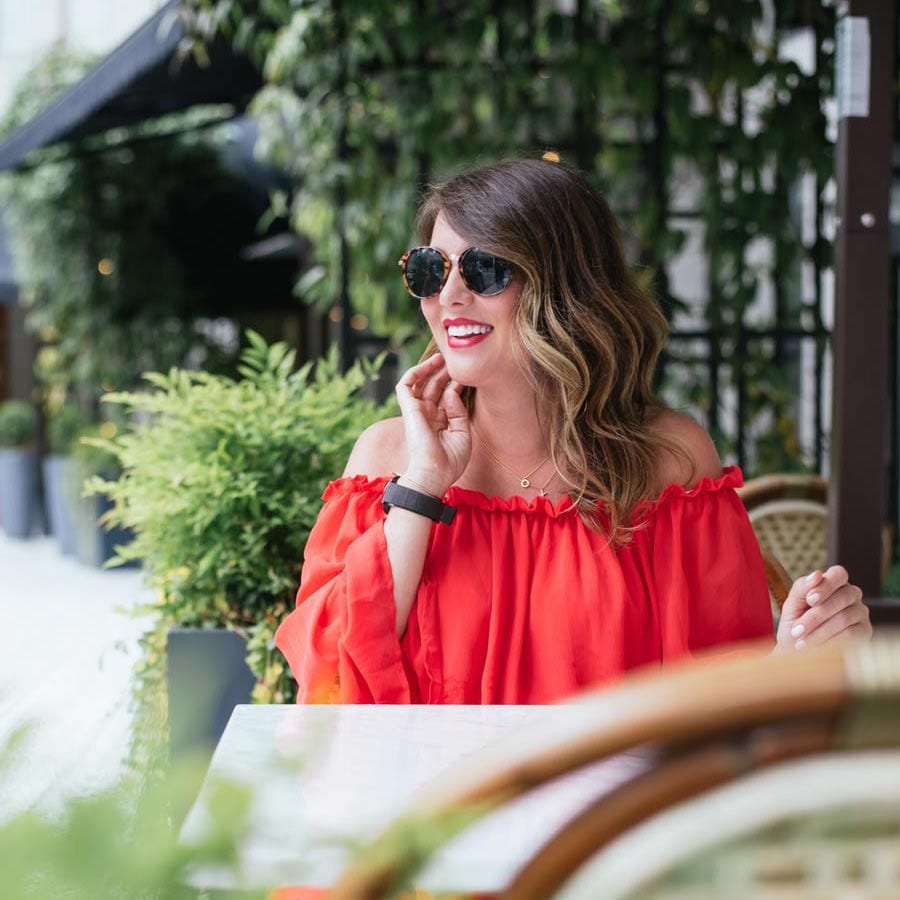 Jillian-Harris-Chic-Wish-Red-Dress-06-1