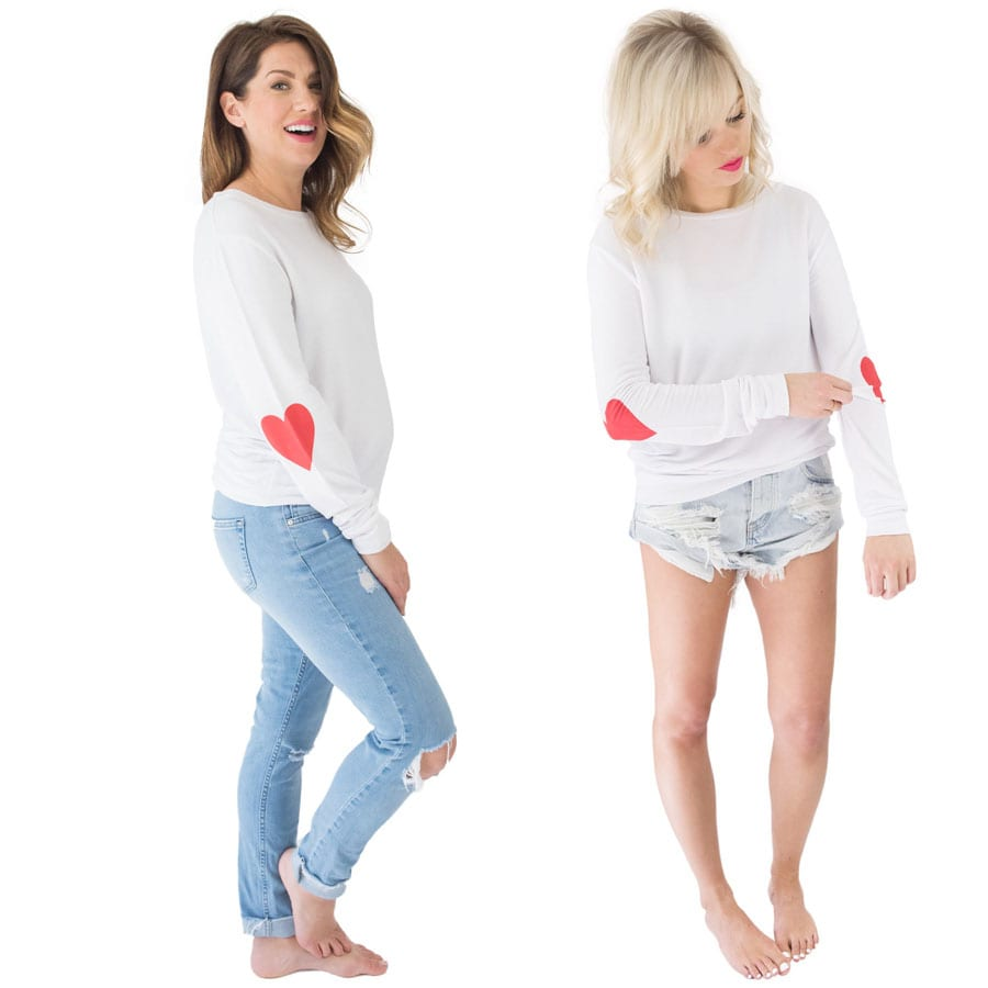 heart yourself pullover