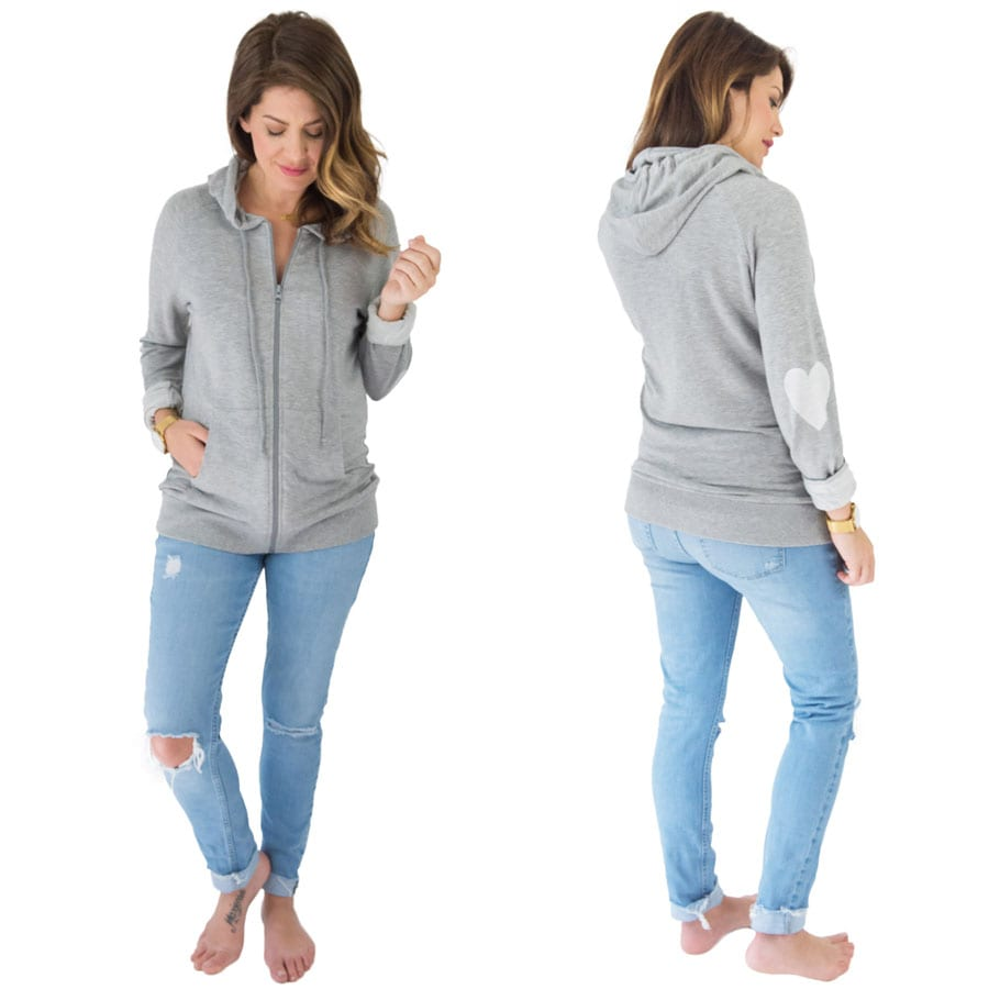 heart yourself zip hoodie jh for priv