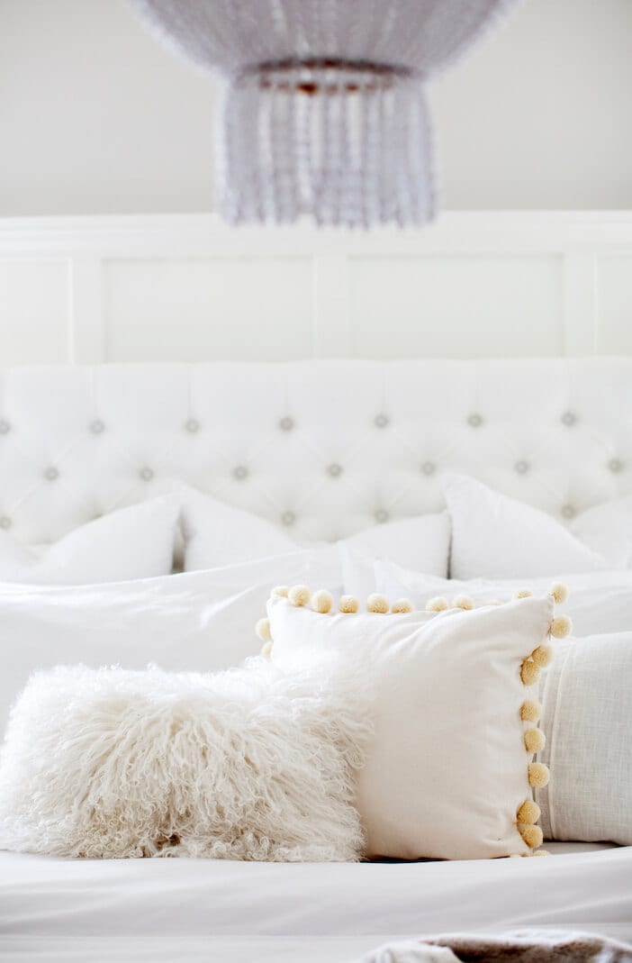 jillian harris bed pom pom pillow
