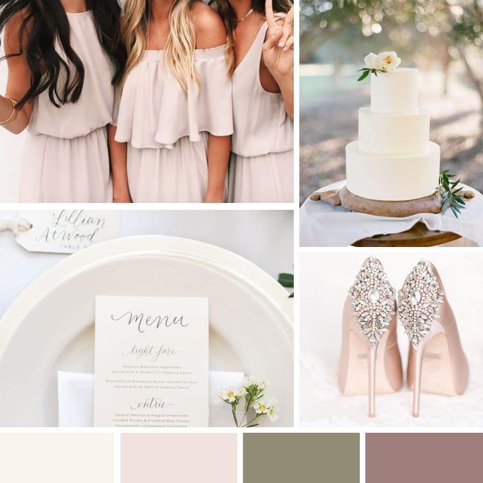 Wedding Colour Scheme Feature