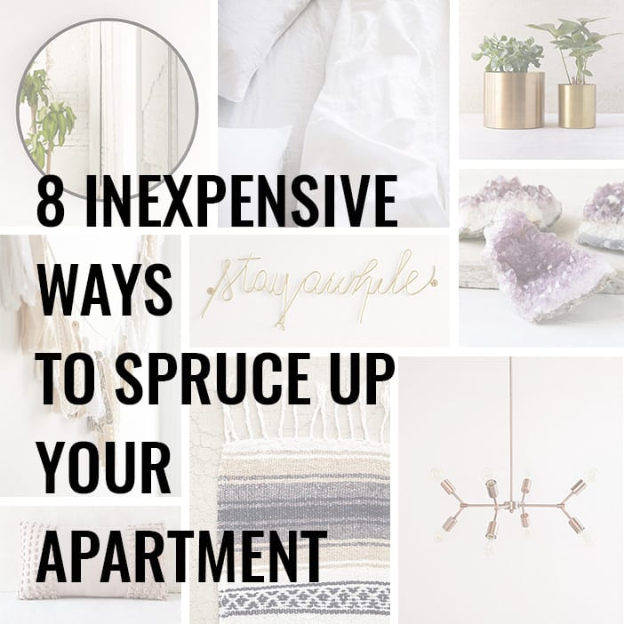How to spruce up an apartment best home design 2018 - Cheap ways to decorate an apartment ...