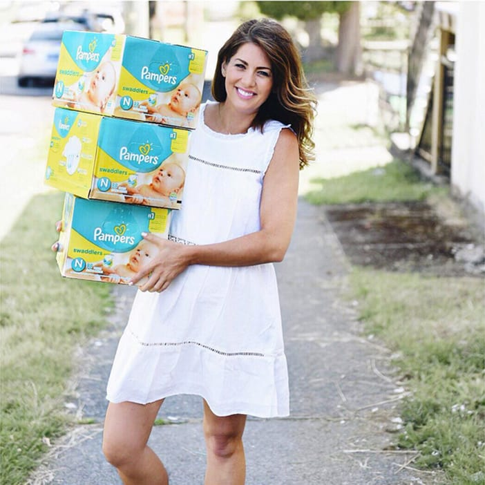 Jillian-Harris-JHforPRIV-dress-Pampers