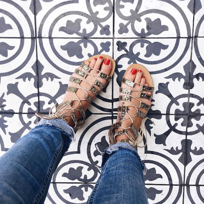 Jillian-Harris-Nordstrom-Gladiator-Sandals