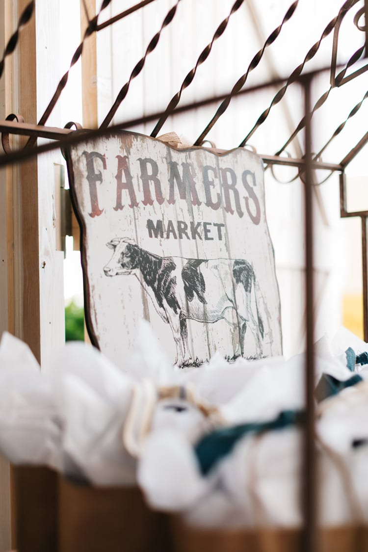 Farmers Market Baby Shower