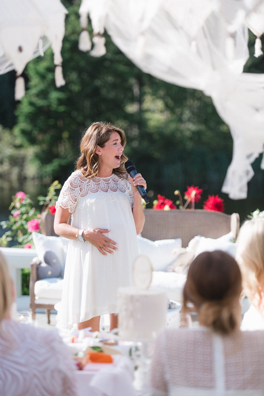 The Most Gorgeous Garden Baby Shower Jillian Harris
