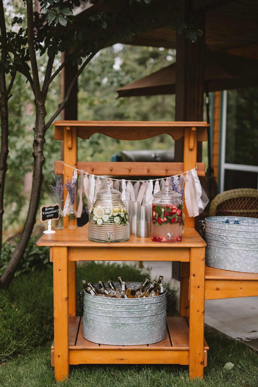backyard wedding decor in 8 budget friendly steps jillian harris