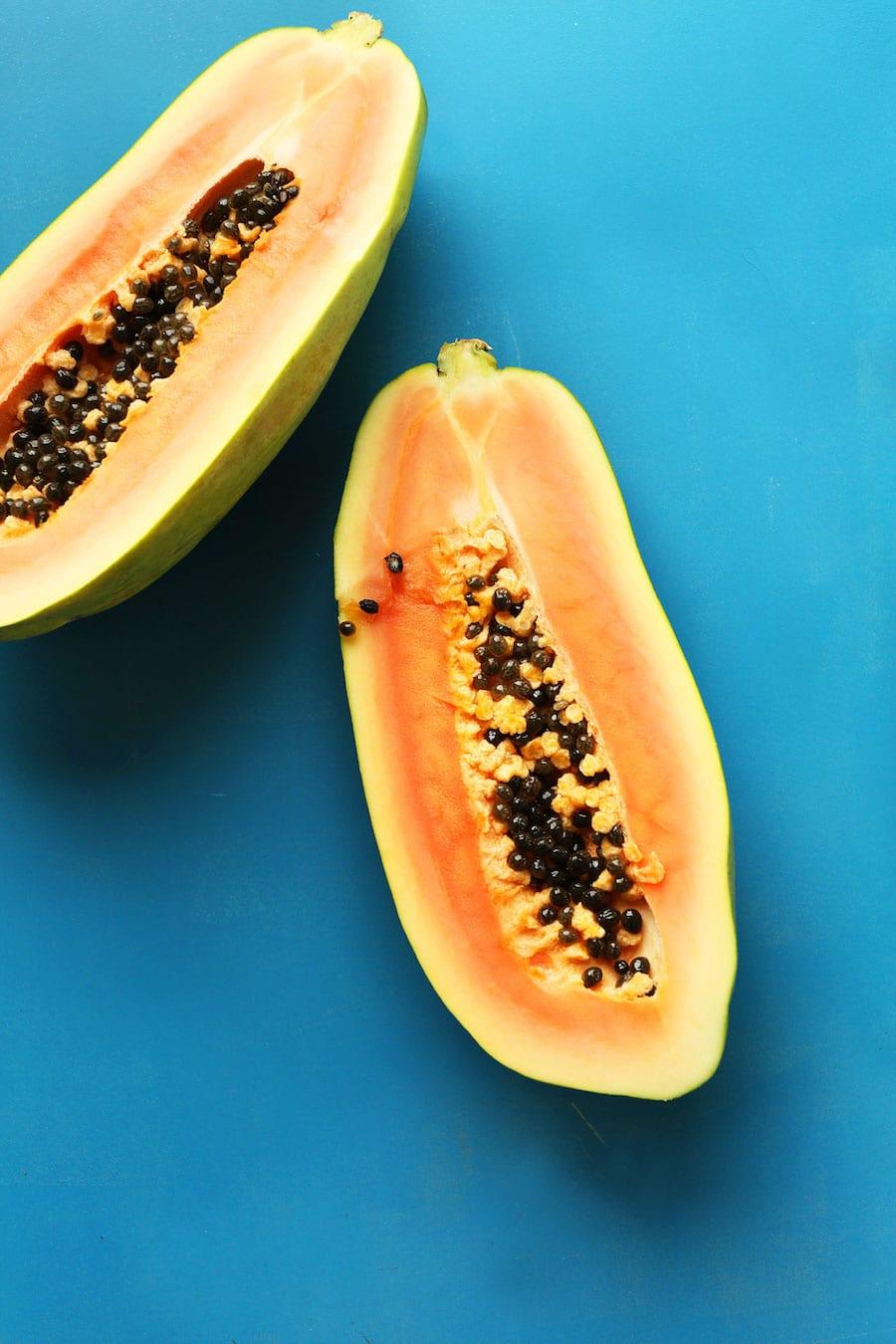 Papaya-Smoothie-vegan-glutenfree-smoothie-recipe